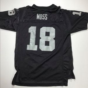 Vintage randy moss Oakland raiders jersey nfl